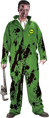 Bad Planning Dirty Oil Stains Spill Adult Costume Mechanic Jumpsuit](Mechanic Costume)