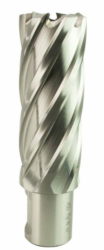 "Steel Dragon Tools® 15/16"" x 2"" HSS Annular Cutter with 3/4"" Weldon Shank"