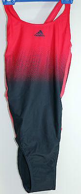 Badeanzug adidas Damen Größe 40 blau rot