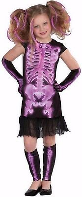 Xray Kostüm (TOTALLY GHOUL SHOCKING XRAY GIRL PURPLE MEDIUM)