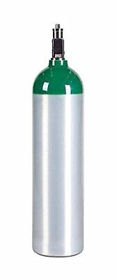 Medical Oxygen Cylinder With Cga870 Post Valve - D Size 14.3 Cf Md New