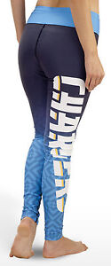San Diego Chargers Logo Gradient Print Womans Leggings