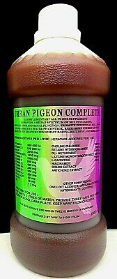 URBAN PIGEON COMPLETE 1000ml Racing Pigeons Supplement Treatment Vitamins Tonic.
