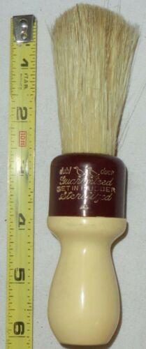 Vintage Dubl Duck, ( NEW ) GUARANTEED STERILIZED SET IN RUBBER Shaving Brush # 4