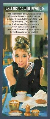 3786 Audrey Hepburn Panel (No Stamps) Mint/nh Free Shipping