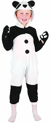 Pandakostüm Gr.98/104 Tier Zoo Fasching Karneval Kleinkind Baby Panda ()
