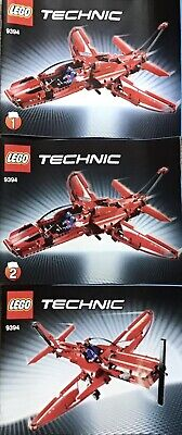 Lego Technic 9394 Jet Plane 100% Complete With Instructions.