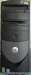 Dell Optiplex GX280 Desktop / 2GB Ram and 3.2 GHz CPU / Windows XP & Restore CD