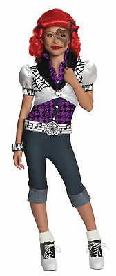Monster High Theme Colors (Monster High Operetta Child Costume Retro Colorful Theme Party Funny)