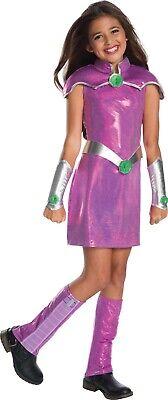 Child Starfire DC Superhero Girls Deluxe Costume