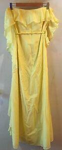 Yellow frill maxi dress size 12 Mount Gravatt Brisbane South East Preview