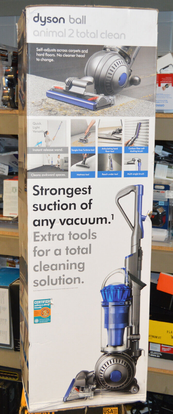 Dyson Ball Animal 2 Total Clean Upright Vacuum Cleaner Blue
