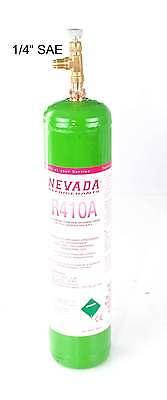 R410A Kältemittel 800g Eigentumsflasche EU-Qualität NEU + Entnahmeventil