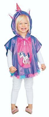 Mottoland 116230 - Einhorn Cape, Kleinkind Kostüm, Gr. - Einhorn Kostüme Kleinkind
