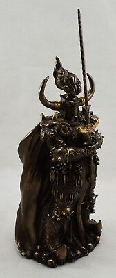 Superb Large Bronze BLACK KNIGHT Fantasy/Magic Statue/Sculpture/Ornament