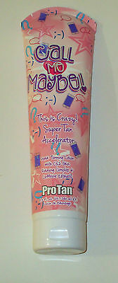 New Pro Tan Call Me Maybe Dark Tanning Lotion Super Tan Accelerator Bed Lotion