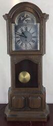 "Sunbeam Tempus Fugit Wall Clock Electric Cord 19"" Tall"