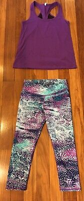 Fabletics Outfit Set Lisette Waisted Leggings And Matching Top