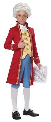 Classical Composer Mozart Amadeus Child Costume](Mozart Costume)