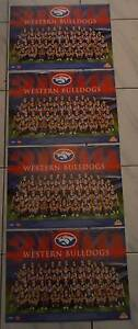 WESTERN BULLDOGS 2009 AFL POSTERS (LOT OF 4) 42cmx30cm *MINT Altona Meadows Hobsons Bay Area Preview