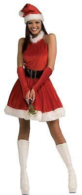Santa's Inspiration Damen Kostüm Roter samt Miss Kleid (Kostüm Inspiration)