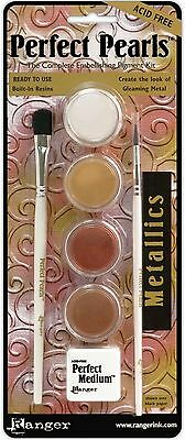PERFECT PEARLS Complete Embellishing Pigment Kit Ranger PPP15963 - Embellishing Pigments