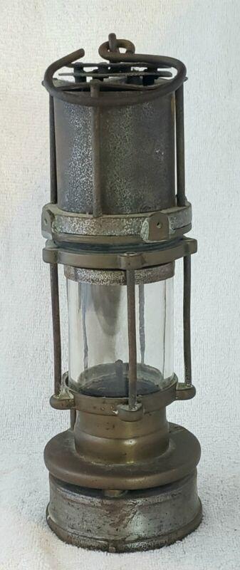 Antique Miners Safety Kerosene Oil Lantern Lamp