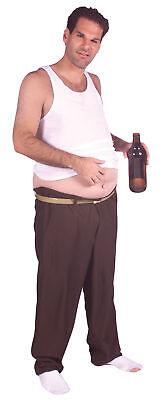 Phil Mccracken Beer Belly Funny Adult Costume Brown Pant Halloween Rasta Imposta
