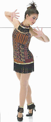 Witch Dance Costume (Witch Doctor Ballet Dance Costume Jungle Jazz TapClearance Child Extra)
