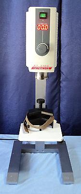 Kinematica Polytron Pt-mr 3100 Mixer Wholder Stand - Factory Rebuilt