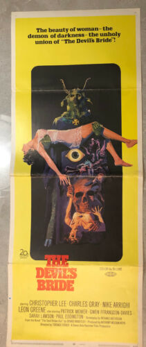 THE DEVIL RIDES OUT 1968 - HAMMER - US 1-Sheet - Christopher Lee