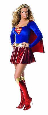 Rubies Supergirl Geheim Wünsche Deluxe Superheld Dc Erwachsene - Deluxe Supergirl Kostüme