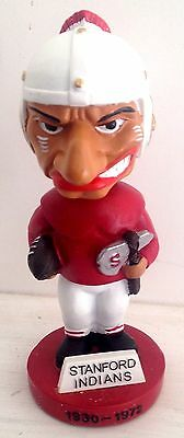 Stanford University Indian Indians Bobblehead Old Mascot   Now Cardinals