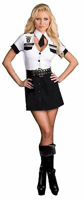TSA Strip Search Unit Adult Womens Costume Sexy Skirt Airport Airline Security