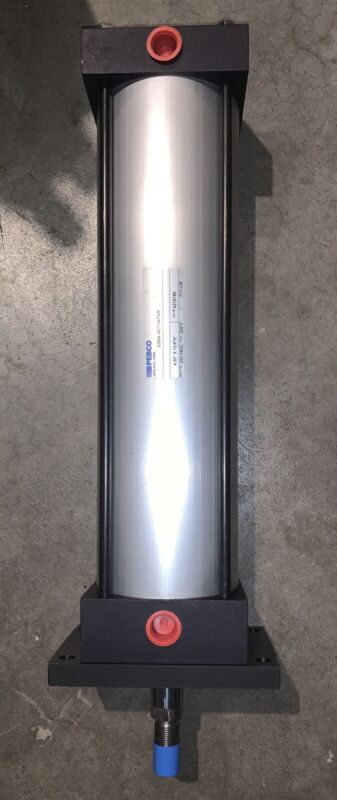 "PEBCO, Pneumatic Air Cylinder 4"" X 12.875"", 250PSI Rated"