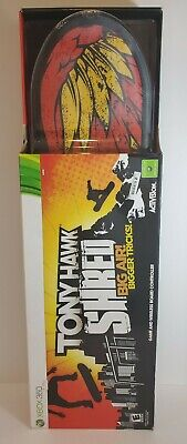 Xbox 360 - Tony Hawk Shred - Game & Wireless Board Controller - New and Sealed