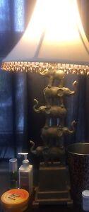 Beautiful Elephant Lamp