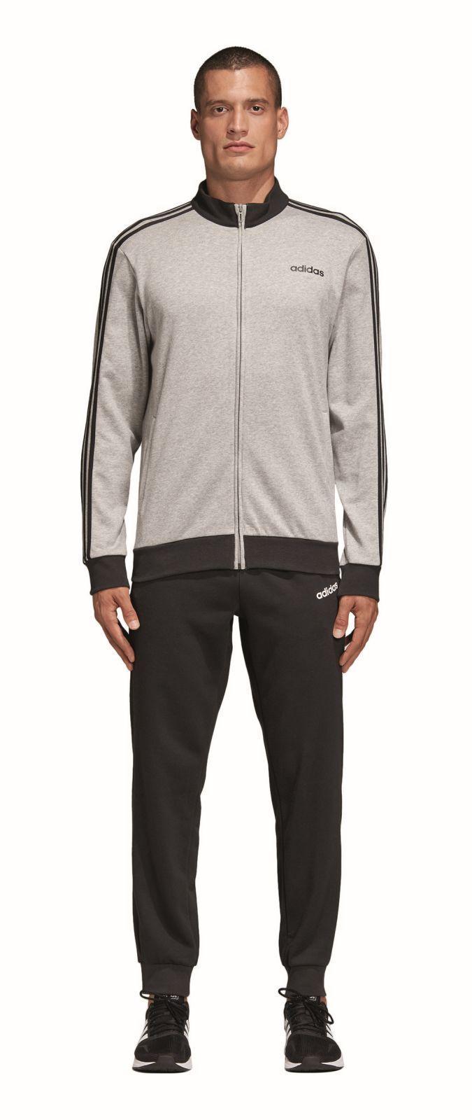 adidas Performance Herren Freizeit Sport Trainingsanzug Cotton Relax Tracksuit 3