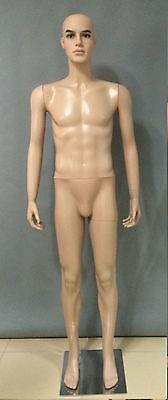 Schaufensterpuppe Männlich Man Mannequin Puppe Schaufensterfigur #B1-B01