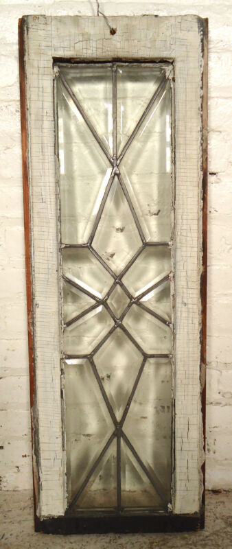 American VIntage Clear Glass Window (2039)NS