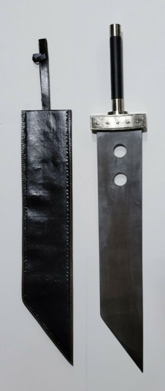 "Final Fantasy VII Cloud Buster Sword Cosplay full tang 53"" metal usa seller new"