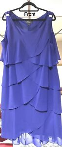 Blue Layer Party Dress size 22