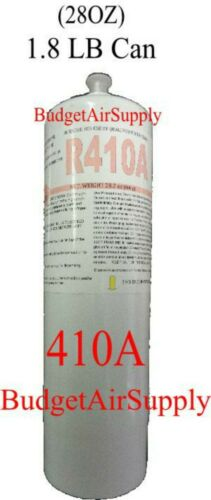 410a refrigerant Top off 1.8lb can REPLACEMENT CAN 410a