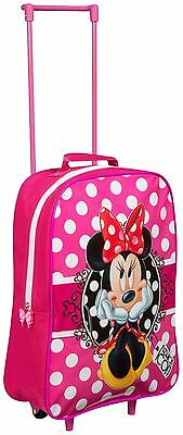 Kinderkoffer Disney Minnie Mouse Trolley 38cm Neu