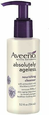 AVEENO Active Naturals Absolutely Nourishing Cleanser, Blackberry 5.2 oz Aveeno Oil Free Cleanser