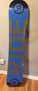 Ride snowboard and bindings