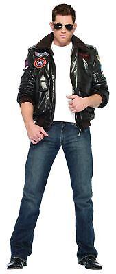 Top Gun Bomber Jacke Erwachsene Kostüm Maverick Gans Tom Cruise Piloten