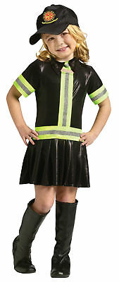 Feuerwehrmann Kinder Mädchen Kostüm Uniformen Halloween Funworld Kleinkind