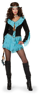 Wilbers sexy Kostüm Indianerin Wishbone Gr. 46  Dame Wild - Wild West Kostüm Indianer