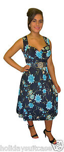 LADIES-WOMANS-SEXY-PARTY-EVENING-HOLIDAY-SUMMER-SUN-CRUISE-DRESS-SIZE-8-26-UK